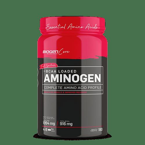 6006544929369 | Biogen SA | Aminogen BCAA - 180 Tabs