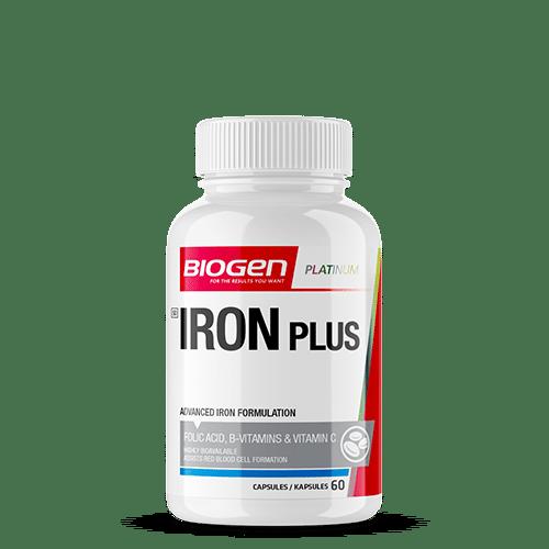6009544934912 1 | Biogen SA | Iron Plus - 60 Caps