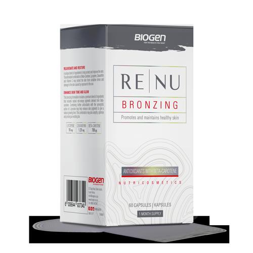 B   Biogen SA   Renu Bronzing - 60 Caps