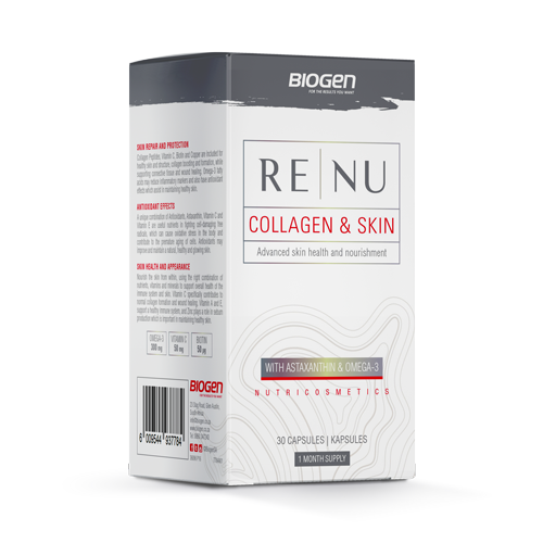 B | Biogen SA | Renu Collagen & Skin - 30 Caps