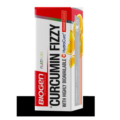 | Biogen SA | Curcumin Fizzy Orange - 10 Tabs
