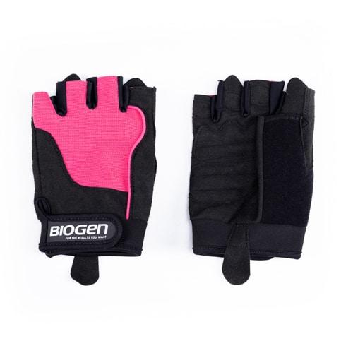 Biogen Ladies Glove Pink Black   Biogen SA   Ladies Glove - Pink/Black