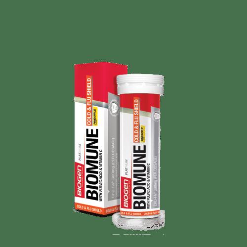 Biomune Pack | Biogen SA | Biomune Cold & Flu Fizzy - 15 Tabs