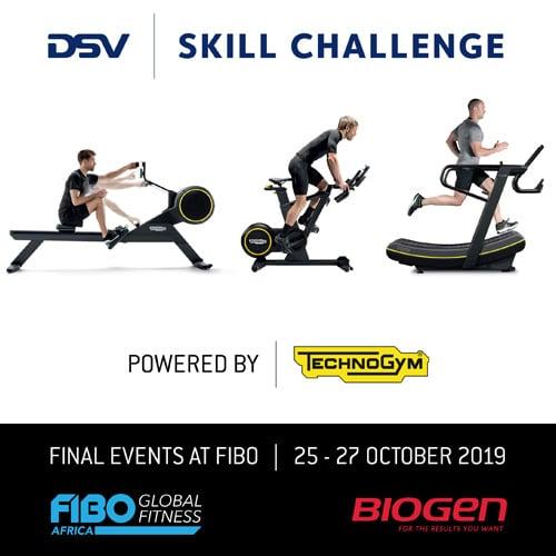 DSV Feat | Biogen SA | Update – DSV skill challenge powered by Technogym