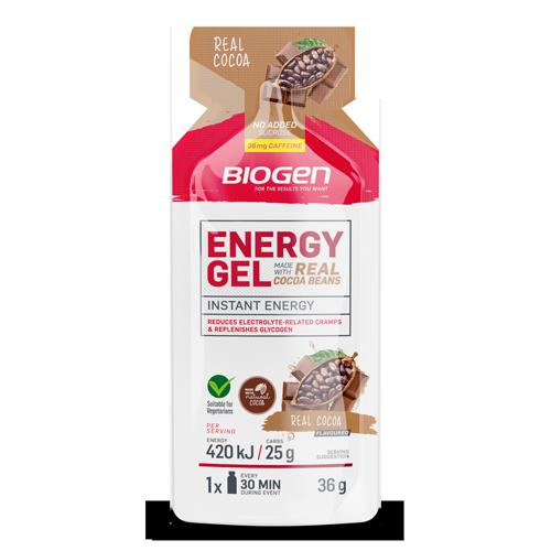 EnergyGel 36g Cocoa online | Biogen SA | Products