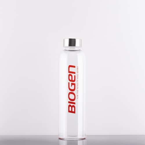GlassBottle 500x500 | Biogen SA | Glass Water Bottle - 550ml