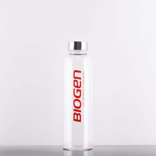 | Biogen SA | Glass Water Bottle - 550ml