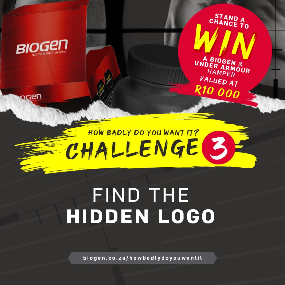 HBDYW Post Challenge 3 min | Biogen SA | How Badly Do You Want It Challenge 3