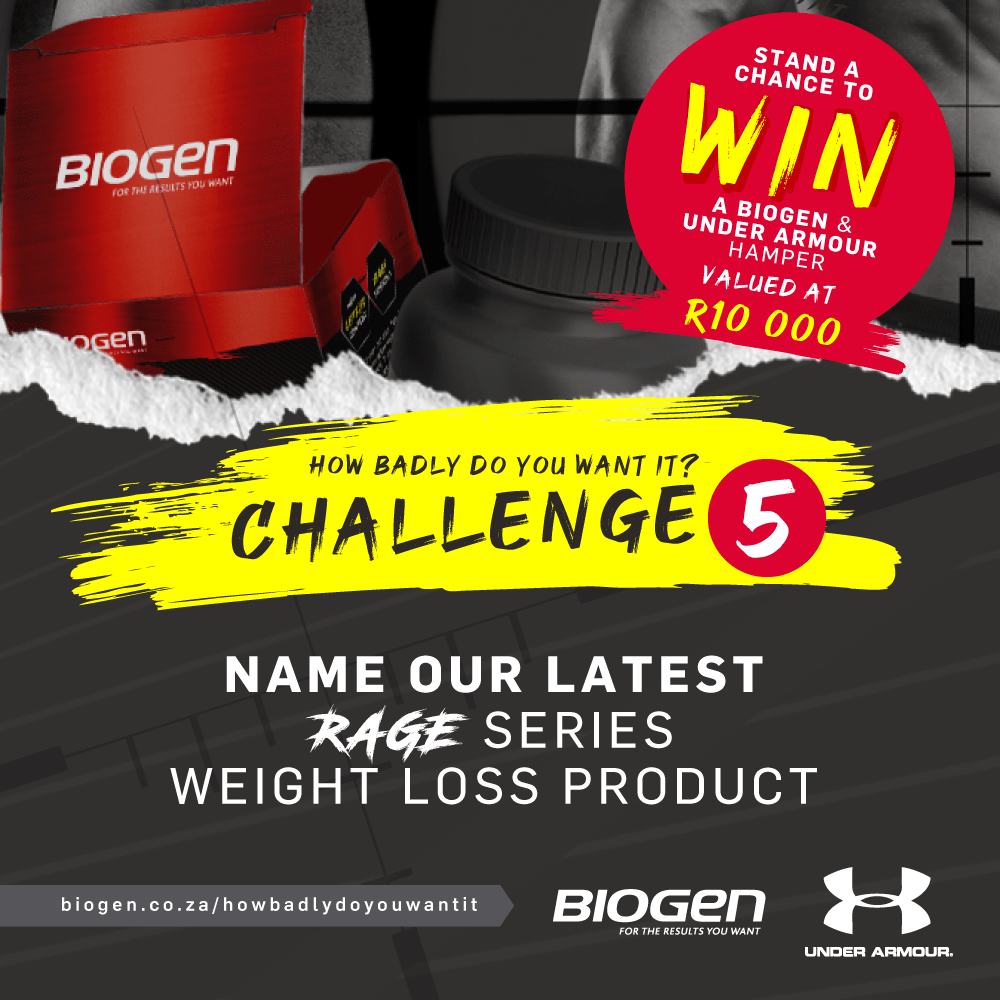 HBDYW Post Challenge 5 min | Biogen SA | How badly do you want it challenge 5