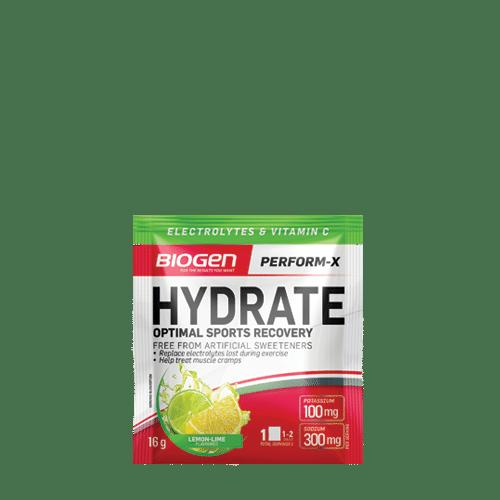 Hydrate Lemon Lime | Biogen SA | Hydrate - 16g Sachet