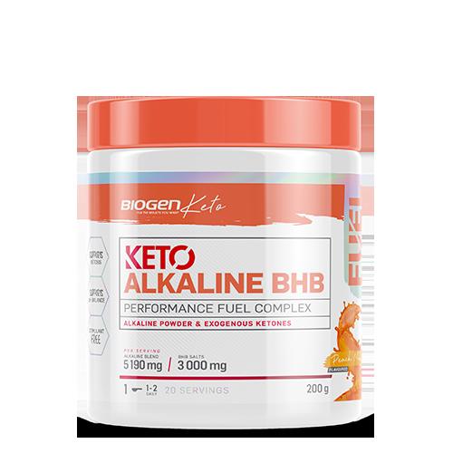 KetoBHBSalts 200g PeachMango online | Biogen SA | Keto Alkaline BHB Mango Peach - 200g