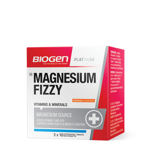 Mag Fizzy Tropical | Biogen SA | Magnesium Fizzy Tropical - 30 Tabs