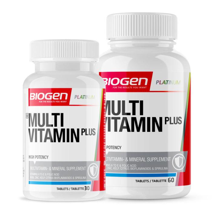 Multi Vitamn 60 Plus 30 online | Biogen SA | Multi-Vitamin 60 + 30 Caps
