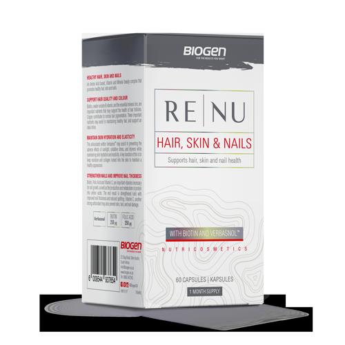 RE | Biogen SA | Renu Hair, Skin & Nail - 60 Caps