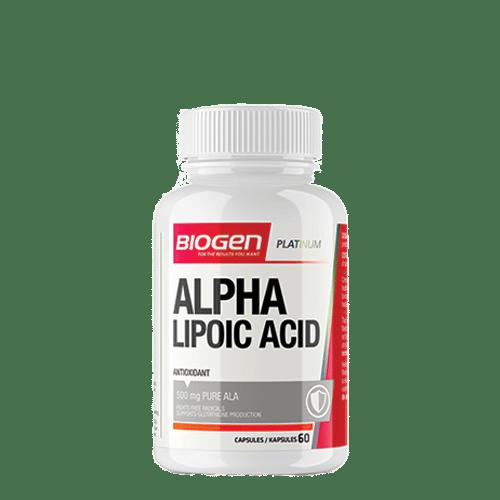alpha licpoic acid 60s copy | Biogen SA | Alpha Lipoic Acid - 60 Caps