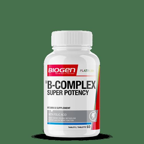 b complex super potency 60 | Biogen SA | B Complex Super Potency - 60 Caps