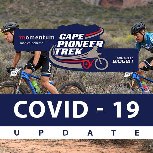 cape pioneer update | Biogen SA | Momentum Cape Pioneer Trek Postponed