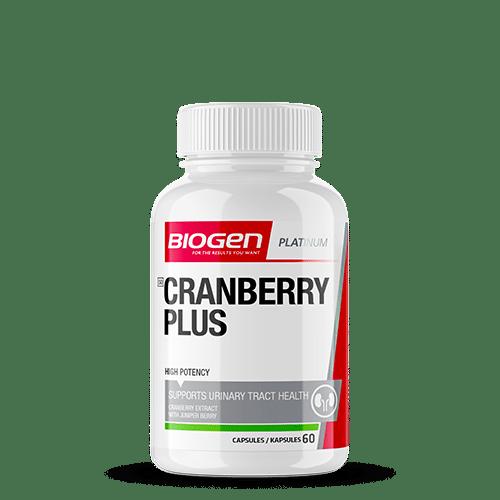cranberry plus 60 | Biogen SA | Cranberry Plus - 60 Caps