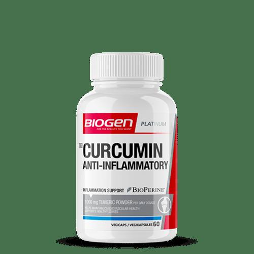 curcumin anti inflammatory 60s | Biogen SA | Curcumin Anti-Inflammatory - 60 Caps