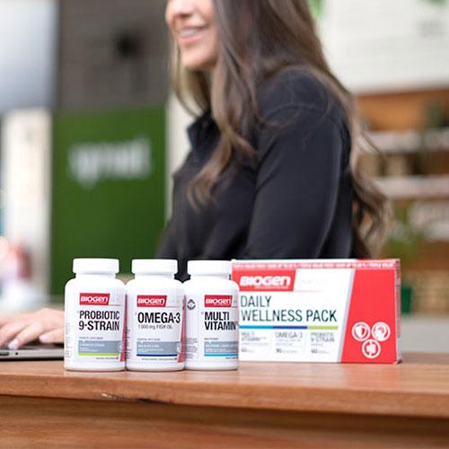 daily wellness pack feat | Biogen SA | The Essentials - Biogen's Daily Wellness Pack