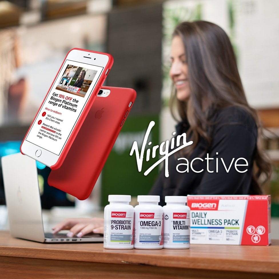 platinumVactive2 | Biogen SA | Virgin Active partners with Biogen to give Premier Members more