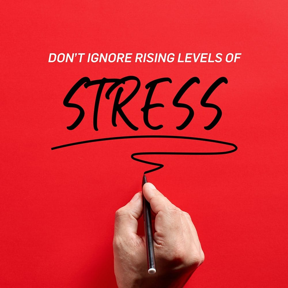 dont ignore stress