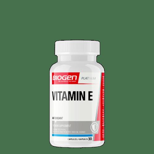 vitamin e 30s | Biogen SA | Vitamin E - 30 Caps