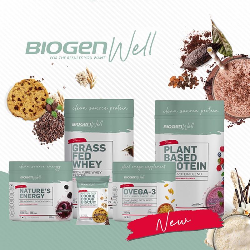 wellness feature | Biogen SA | The new Biogen Well Range